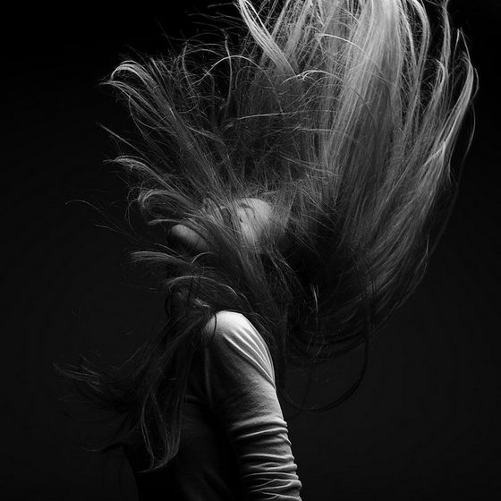 Emotion of Hair: Simple but Stunning Hair Photography by Marc Laroche
