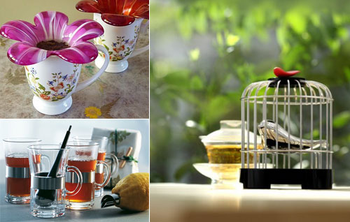 14 Modern and Stylish Tea Infuser and Tea Strainer