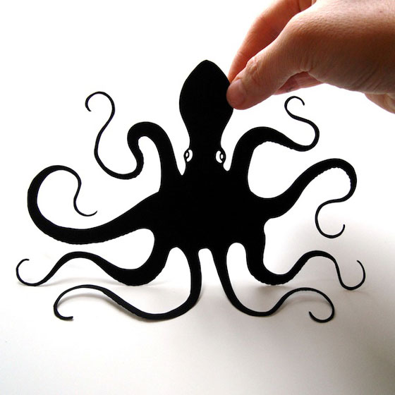 Bold and Beautiful Hand-Cut Paper Silhouettes