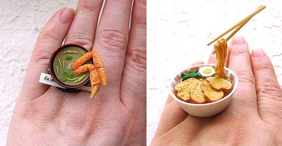 Food Decor Ring