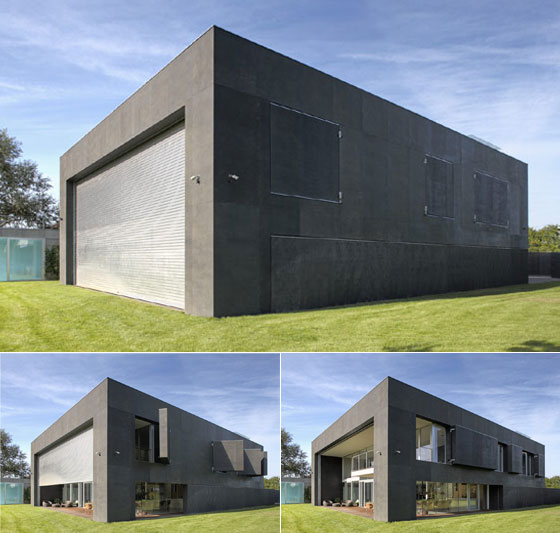 Incredible safe house with movable wall by kwk promes House with movable walls