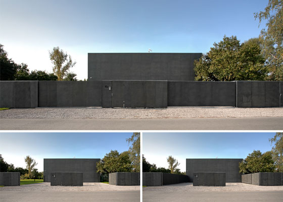 Incredible Safe House with Movable Wall by Kwk Promes