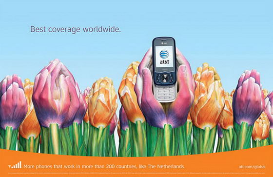 Creative AT&T Ads Campaign: 23 Fabulous Hand Paintings