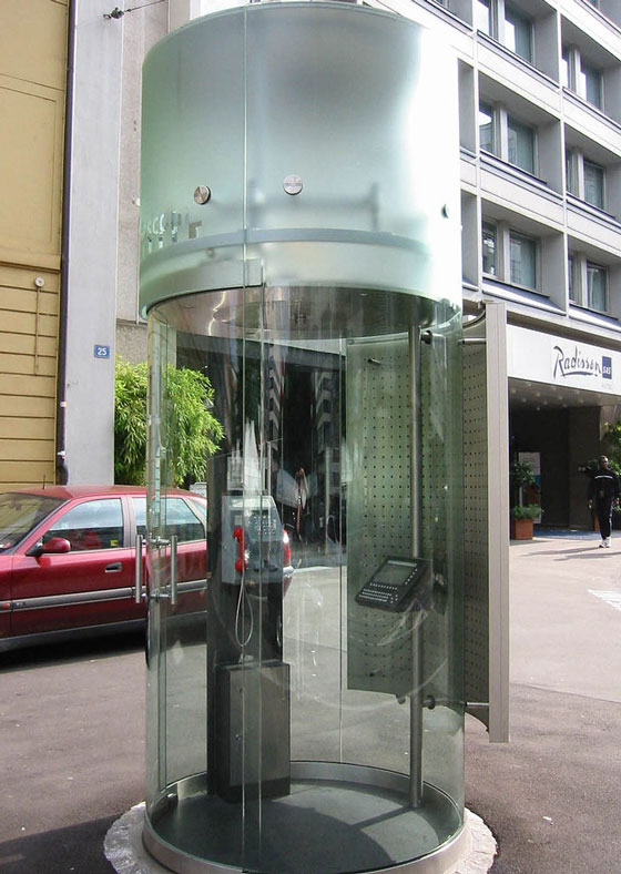 12 Cool And Unusual Phone Booths Around The World Design