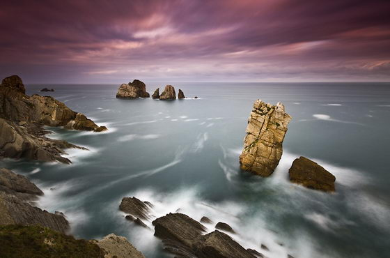 Breathtaking Scenery off Cantabrian coast by Jose Ramon Irusta