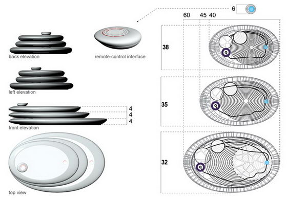 2 Innovative Compact Cooking System Concepts