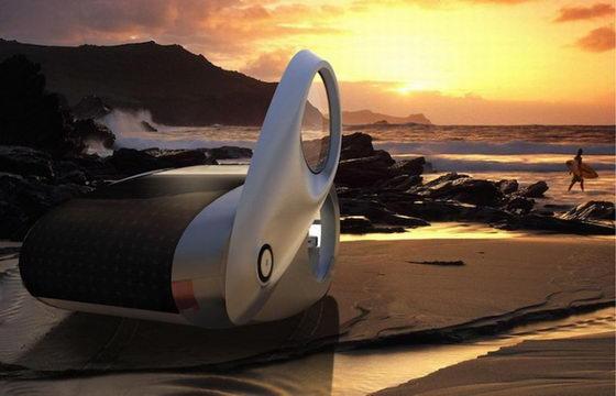 Ecco Camper: Futuristic Concept Car from NAU