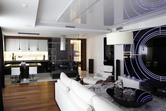 Fantasy Island: Contemporary Apartment Design in Moscow