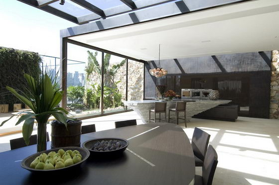 Fabulous Home without Completely Covered with Walls and Ceilings