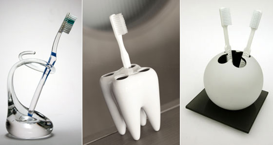 15 Cool and Unusual Toothbrush Holders