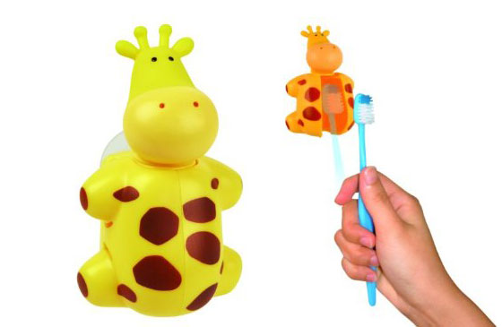 Flipper Animal World Toothbrush Holder