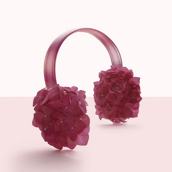 Scent of Flower:Flower Themed Fashion Accessories by Fulvio Bonavia