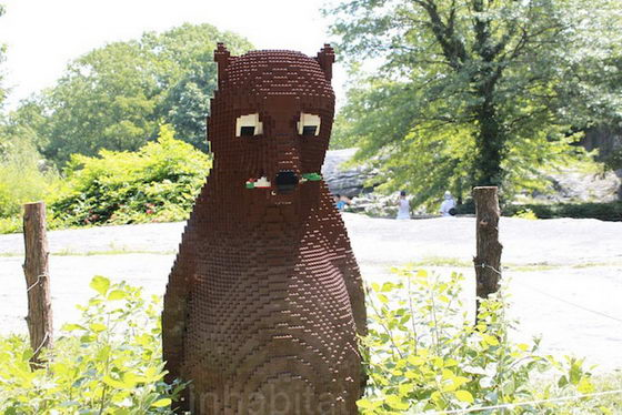 Fascinating LEGO animals Exhibit in Bronx Zoo
