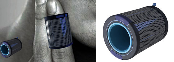 Ring-shaver: Shave with a Flick of a Finger