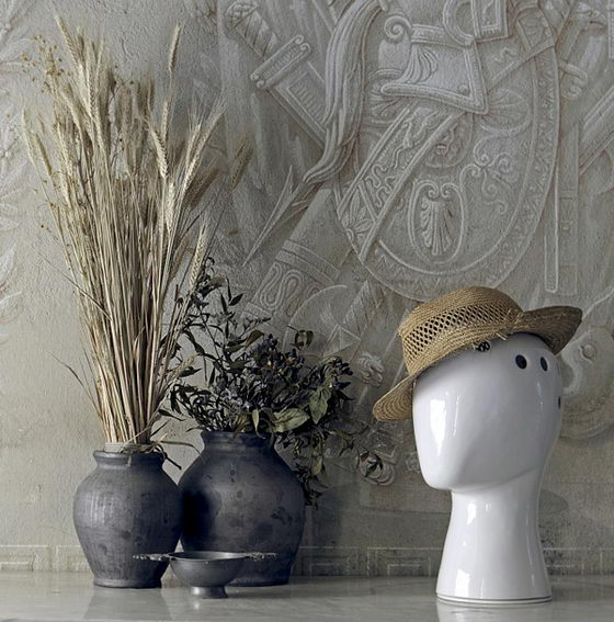 Ironic but Funny Wig Vase by Tania da Cruz
