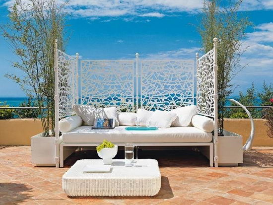 19 beautiful outdoor canopy beds design swan Beautiful canopy beds