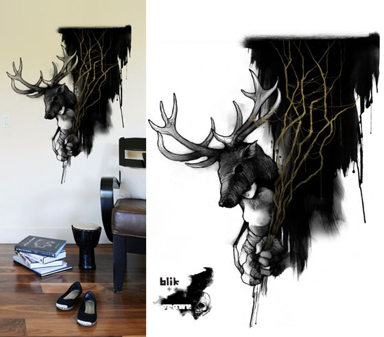 8 Unusual Wall Decal Designs