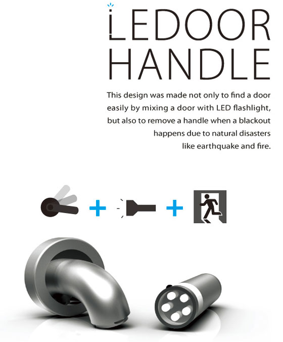 LEDoorHandle: Glowing Handler for Mood and Emergency