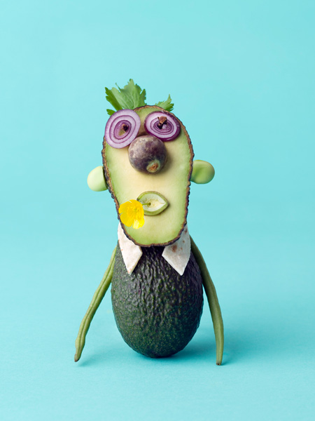 Vegetable Faces: Creative and Cute Food Sculptures