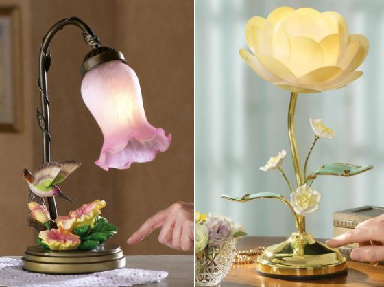 12 Beautiful Lamps Shaped In Flower Design Swan