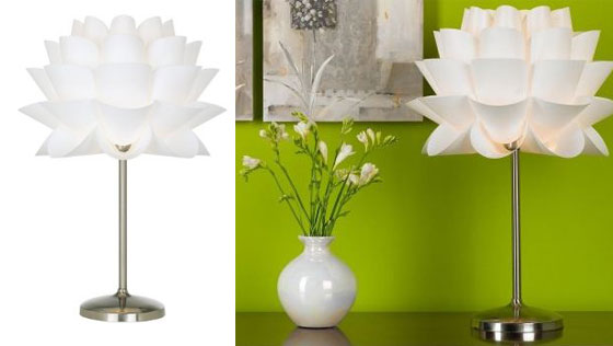 12 beautiful lamps shaped in flower design swan 12 beautiful lamps shaped in flower mozeypictures Choice Image