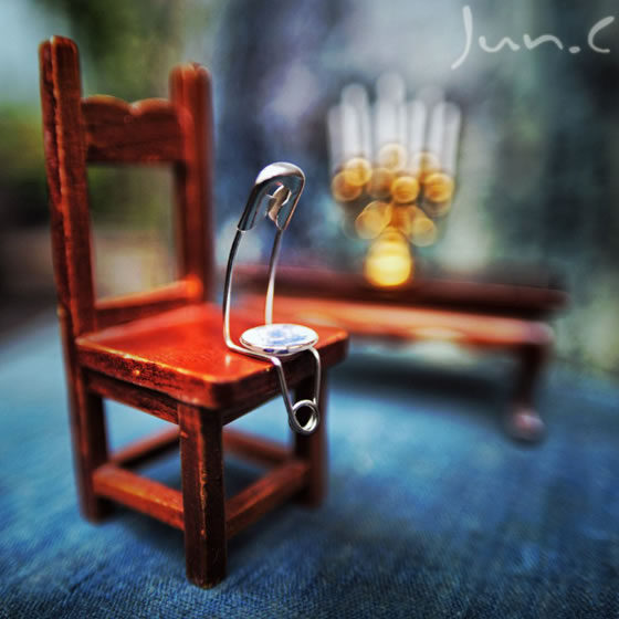 The Story of Pin: Creative Macro Photography about Pin
