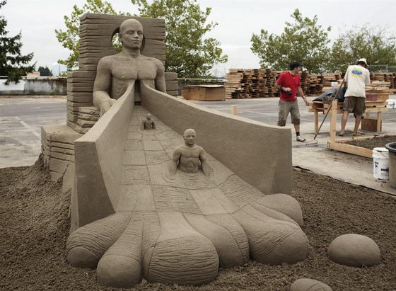 From Sand to Art: Magnificently Sand Sculptures