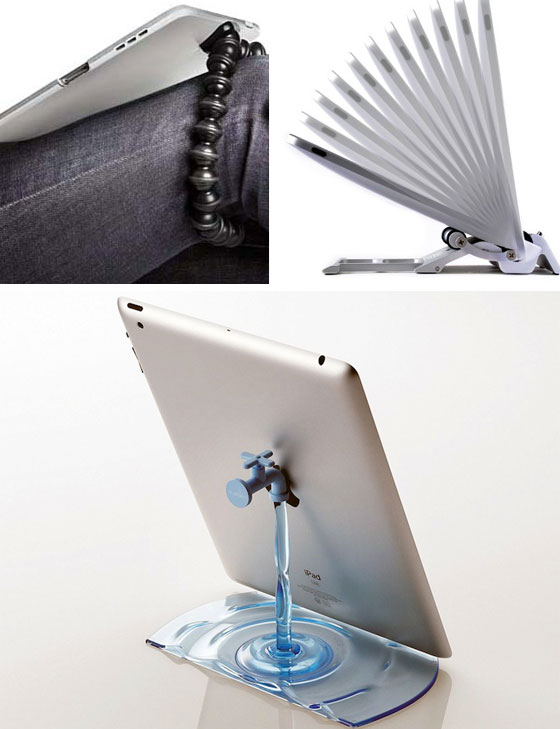 11 Cool iPad Stands and Docks to Stylize your Tablet