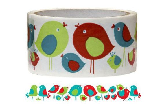 10 Unusual Decorative Packing Tapes