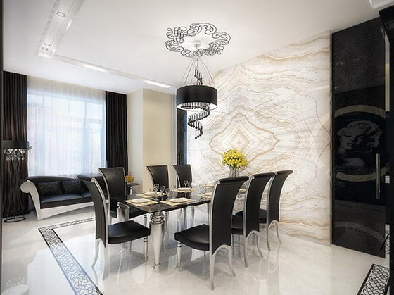 Vintage Luxury Interior Design Inspired by old Hollywood Glamor