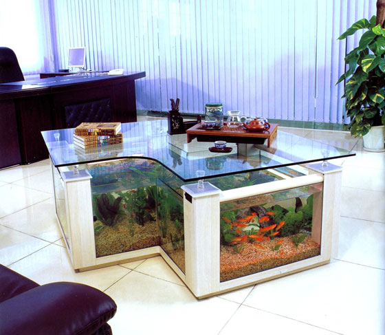 15 Creative and Unusual Aquarium Designs