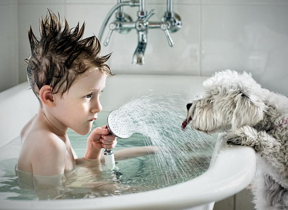 21 Emotionally Touching Photos of Relationship between Dogs and Humans