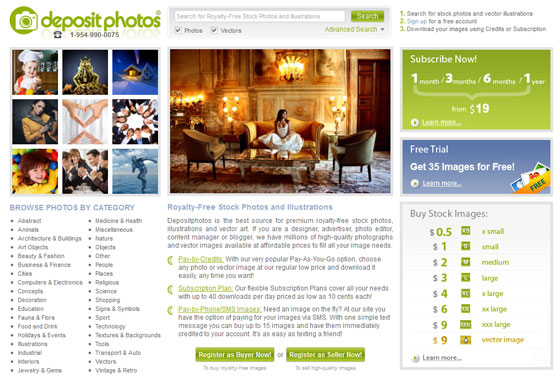 Welcome to the New Interface of Depositphotos