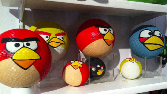 Funny and Cute Angry Birds Inspired Products