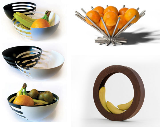15 Modern And Unusual Fruit Bowls/Holders