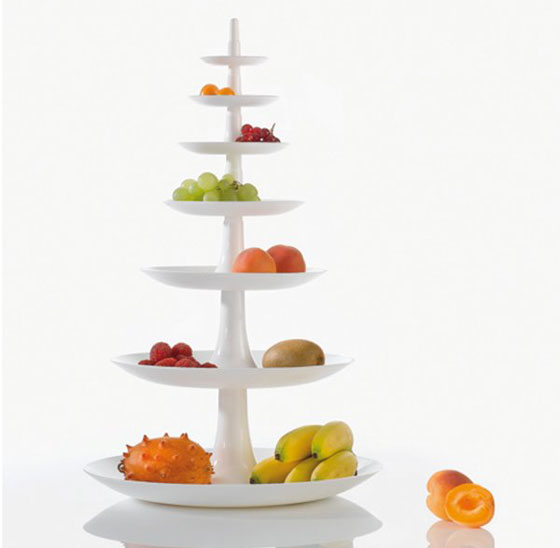 Fruit Dish Babell XL solid white