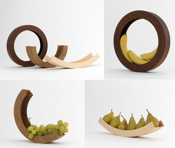 15 Modern And Unusual Fruit BowlsHolders Design Swan