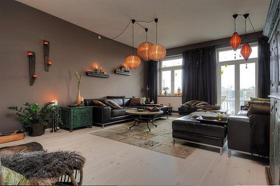 Gorgeous Sweden Apartment With Lavish Decorations