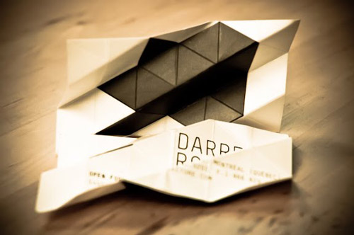 Creative Business cards for Architects and Builders