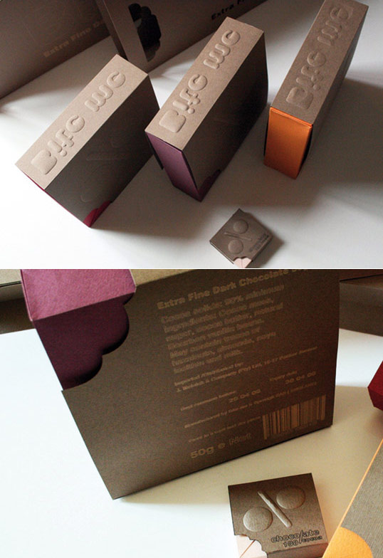 17 Beautiful Chocolate Packaging Designs