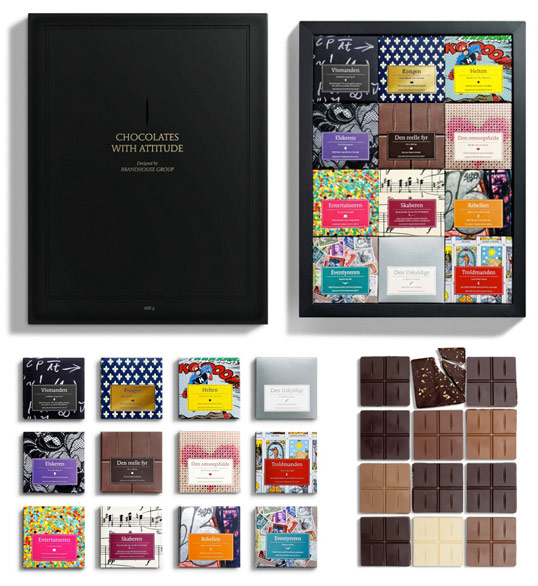 17 Beautiful Chocolate Packaging Designs