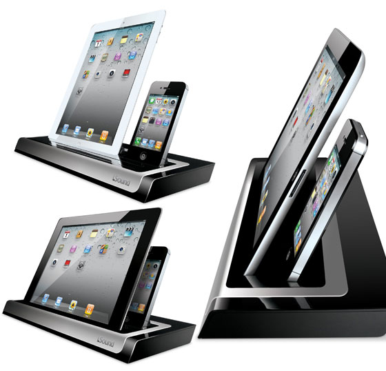 15 cool docking stations for ipad ipod and iphone design swan. Black Bedroom Furniture Sets. Home Design Ideas