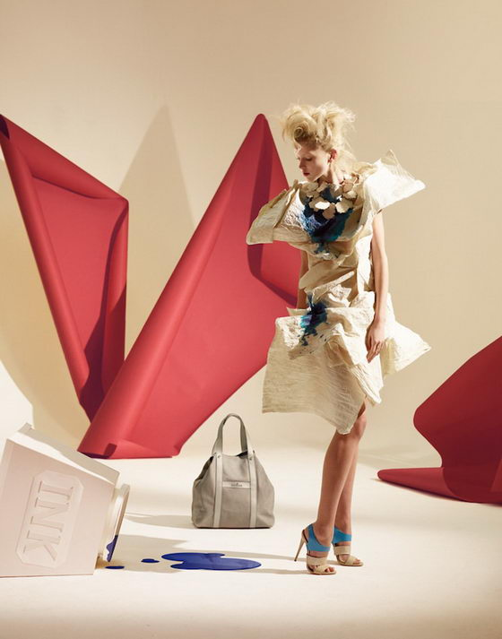 Stunning Paper Dresses by Matthew Brodie