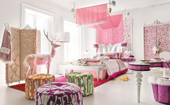 Incroyable 25 Beautiful And Charming Bedroom Design For Teenage Girls