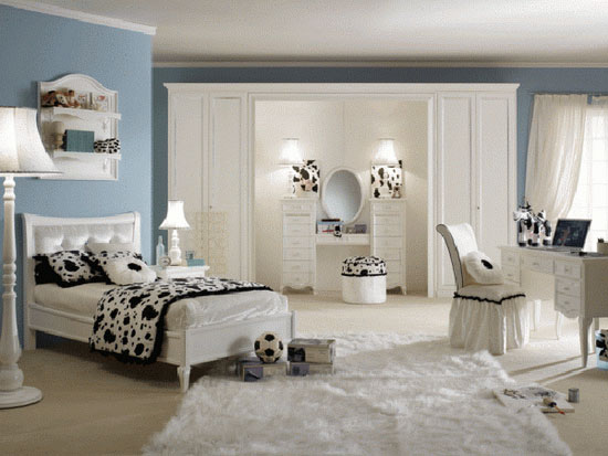 25 beautiful and charming bedroom design for teenage girls - Beautiful Bedroom