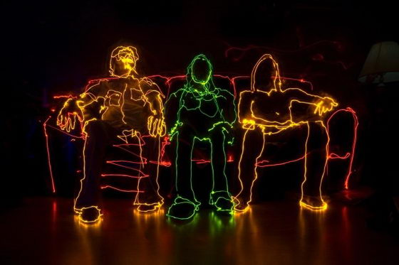 Mind-blowing Light Painting by Brian Matthew Hart