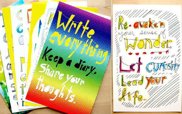 15 Beautiful and Creative Postcard Designs