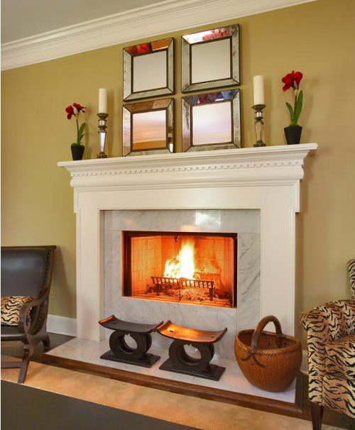 25 Beautiful And Warming Fireplaces For Cozy Home