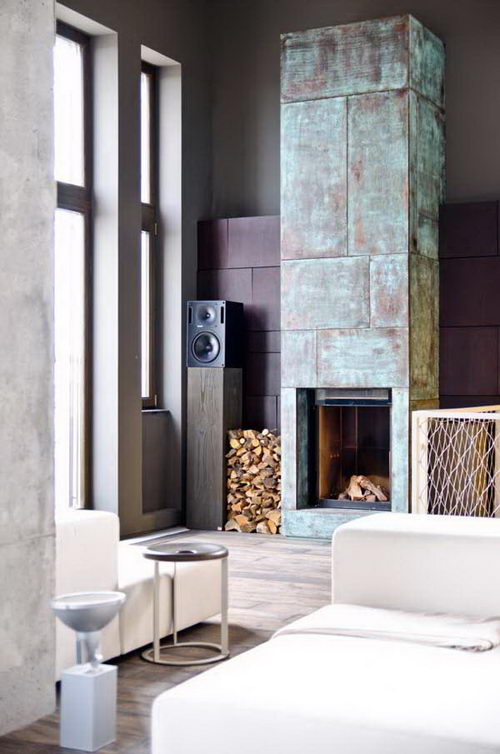 25 Beautiful and Warming Fireplaces for Cozy Home Decoration