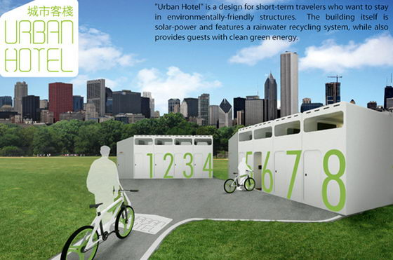 Urban Hotel: Green Hotel for Bike-vacations